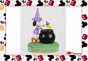 Hallmark Peanuts Toil and Trouble Halloween Musical Ornament New with Box