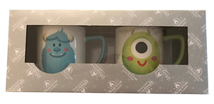 Disney Parks Shanghai Monsters Inc. Sulley and Mike So Little So Cute Mug Set