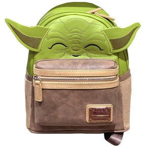 Disney Parks Star Wars Yoda Mini Backpack New with Tag