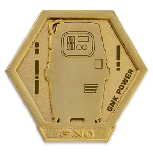Disney GNK Power Droid Star Wars: Galaxy's Edge Droid Badge Pin Limited New Card