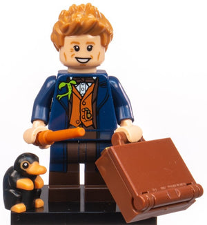 Lego Harry Potter Fantastic Beasts Minifigures Newt Scamander New Opened