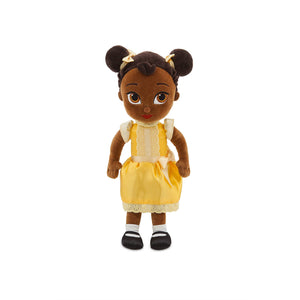 Disney Store Animators Collection Tiana Plush Doll Small 12'' New With Tags