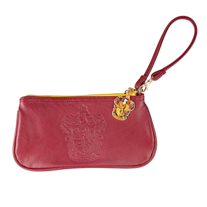 Universal Studios Harry Potter Gryffindor Crest Wristlet New with Tags