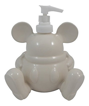 Disney Parks Mickey Icon Ceramic Liquid Soap Dispenser New