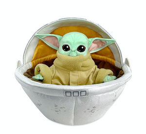 Disney Star Wars The Mandalorian The Child Plush in Hover Pram New with Tag
