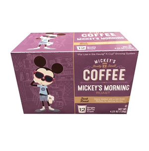 Disney Mickey's Coffee Mickey's Morning Roast 12 Keurig K-Cup New Sealed
