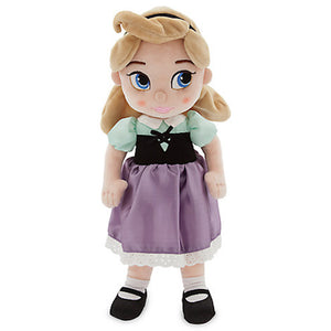 Disney Store Animators' Collection Aurora Plush Doll Sleeping Beauty New with Tags