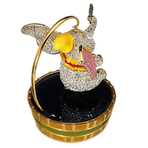 Disney Parks Dumbo Jeweled Figure with Stand by Arribas Swarovski New with Box