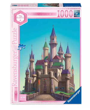 Disney Castle Collection Aurora Sleeping Beauty Castle Puzzle Limited New w Box