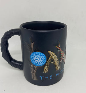 Disney Parks Pandora World of Avatar Black Coffee Mug New