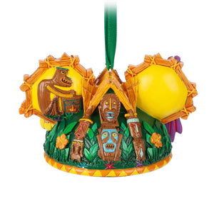 Disney Parks Enchanted Tiki Room Ear Hat Ornament New with Tag
