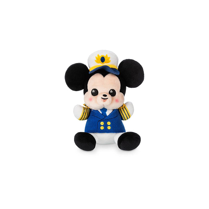Disney Captain Mickey Mouse Cruise Line Wishables Plush Micro Limited Release