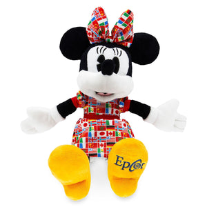 Disney Parks Epcot Flags Minnie Mouse 11inc Plush New with Tags