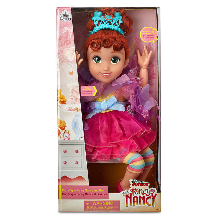Disney Store Fancy Nancy Doll with Boa New with Box