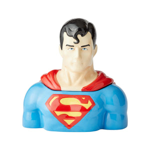 DC Comics Superman Cookie Jar New with Box