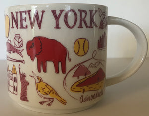 Starbucks Been There Series Collection New York Coffee Mug New With Box