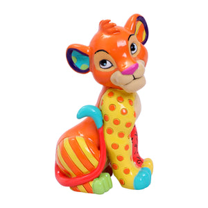 Disney Britto Mini The Lion King Simba Figurine New with Box