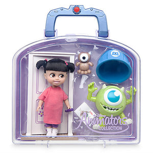 Disney Animators' Collection Boo Mini Doll Play Set Monsters New with Case