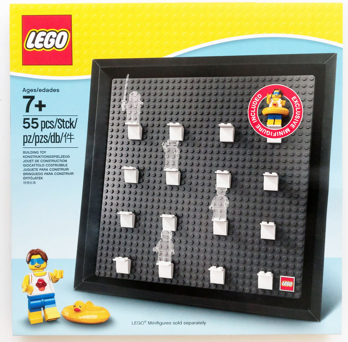 Lego 5005359 Minifigure Collector Frame Stud Muffin With Duck Tube Minifigures
