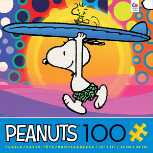Peanuts Movie Snoopy Circle Of Friends 100 pcs Puzzle Ceaco New with Box