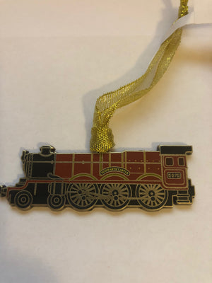 Universal Studios Harry Potter Hogwarts Express Train Metal Ornament New w Tags