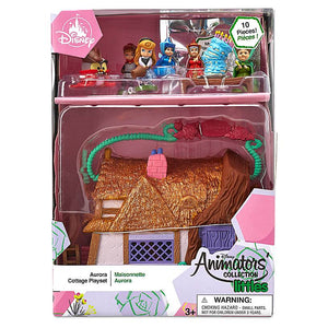 Disney Animators' Aurora Surprise Cottage Play Set Sleeping Beauty New with Box