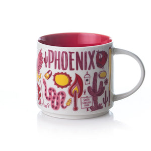 Starbucks Been There Series Collection Phoenix Arizona Ceramic Coffee Mug New