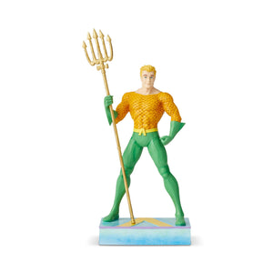 DC Comics by Jim Shore Aquaman Silver Age Seven Seas Figurine New with Box