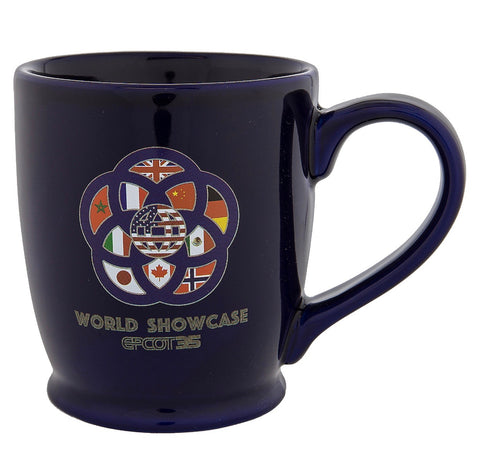 Disney Parks Epcot 35th Anniversary Ceramic Coffee Mug New