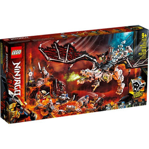 Lego 71721 NINJAGO Skull Sorcerer's Dragon Building Kit New with Sealed Box