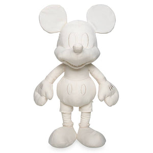 "Disney Parks Ink & Paint Mickey Mouse 15"" Colorable Plush Toy New With Tag"