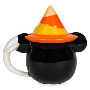 Disney Minnie Mouse with Witch Hat Halloween Mug with Lid New