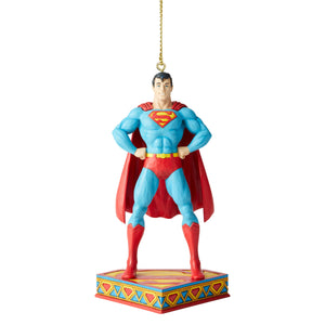 DC Comics by Jim Shore Superman Silver Age Christmas Ornament New with Box