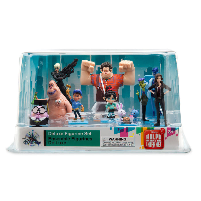 Disney Ralph Breaks the Internet Deluxe Figure Play Set Cake Topper Figurine