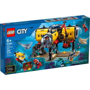 Lego 60265 City Sky Ocean Exploration Base Marine Set New with Sealed Box