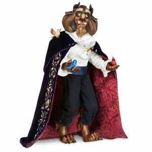 Disney Store Beauty and the Beast Limited Edition The Beast Doll New with Box