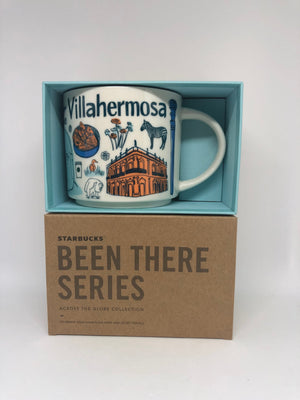 Starbucks Been There Series Villahermosa Mexico Ceramic Coffee Mug New