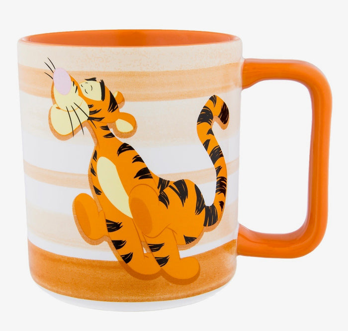 Disney Parks Tigger Bouncy Trouncy Flouncy Pouncy Fun Ceramic Coffee Mug New