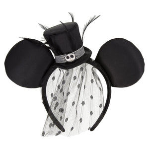 Disney Jack Skellington The Nightmare Before Christmas Ears Headband New Tag