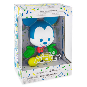 Disney Mickey Neon Vinyl Figure by Jerrod Maruyama Special Edition New with Box
