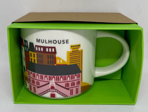 Starbucks You Are Here Collection Mulhouse France Ceramic Coffee Mug New Box