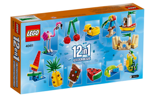 Lego 40411 Creative Fun 12-in-1 Pink Flamingo Ice Cream New