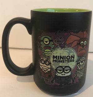 Universal Studios Despicable Me Minion Monster Ceramic Mug New