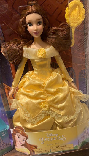 Disney Parks Princess Belle Doll with Brush New Edition New with Box
