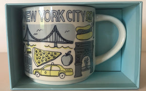 Starbucks Been There Series Collection New York City Coffee Mug New With Box