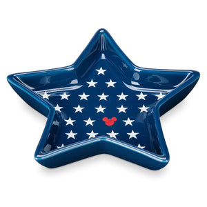 Disney Parks Mickey Americana Star Small Tray New
