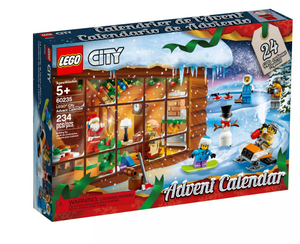 Lego City 60235 Holiday Advent Calendar New with Box