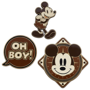 Disney Store Mickey Memories April Pin Set Limited Release New with Card