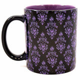 disney parks haunted mansion wallpaper hurry back coffee ceramic mug new
