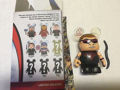 "vinylmation disney avengers age of ultron 3"" hawkeye variant new with box & foil"